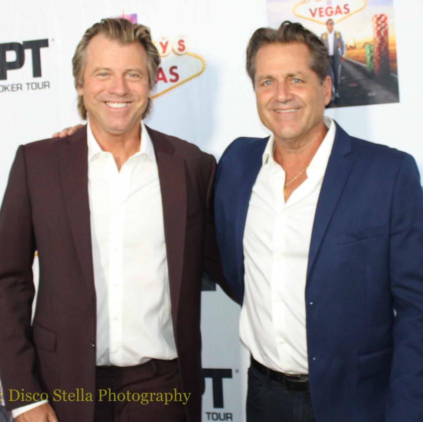 Vince Van Patten and Jimmy Van Patten- A