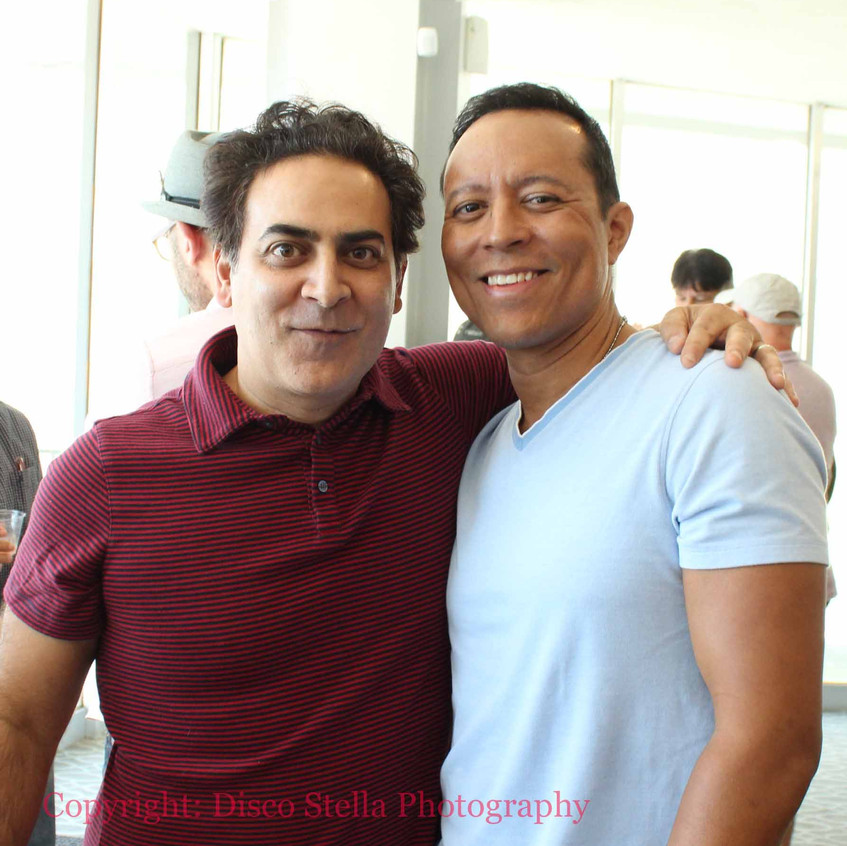 Jason Antoon and Yancy Arias- Actors