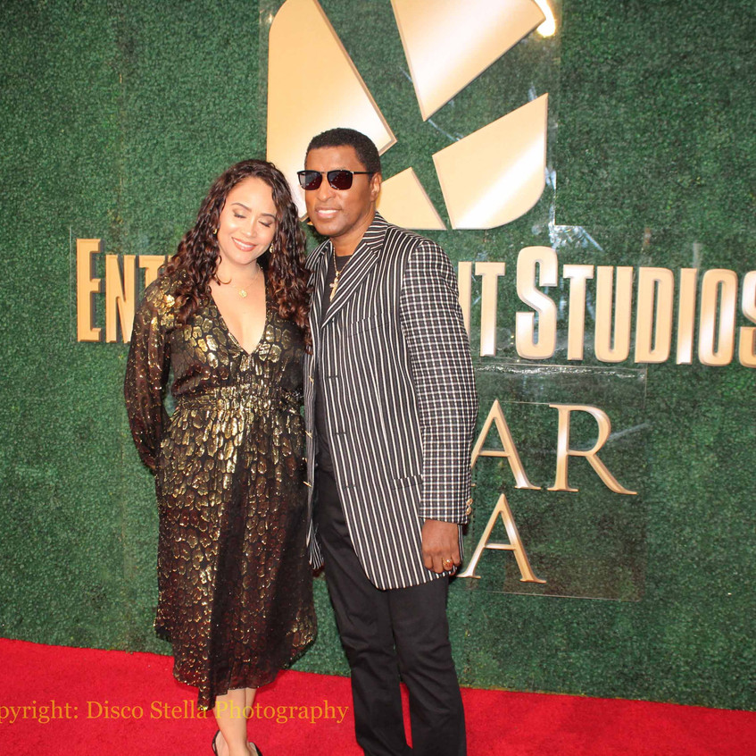 Kenneth BabyFace Edmonds with Wife Nicol