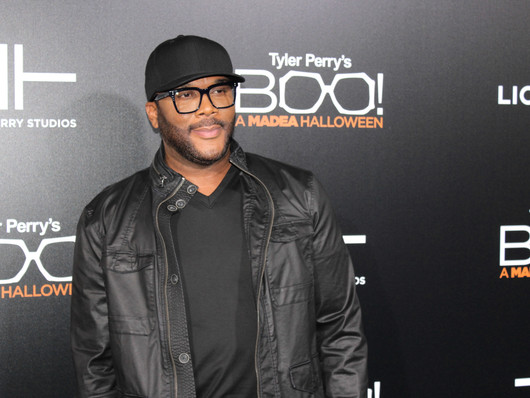 Tyler Perry's BOO! A Madea Halloween premiere hits the black carpet in Hollywood.