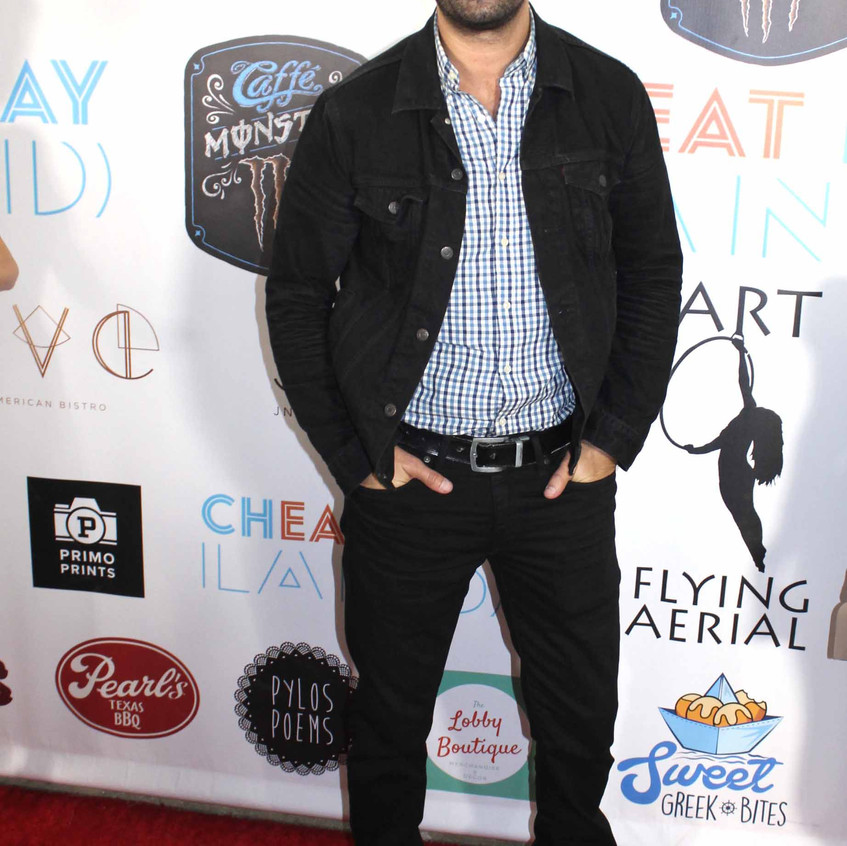 Michael Masini - Actor on the carpet
