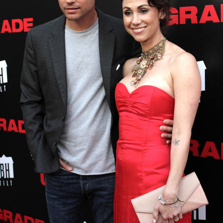 Logan Marshall-Green - Actor with Wife - Cast