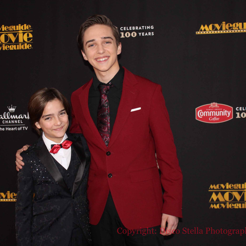 Elias Harger and Michael Campion - Actor