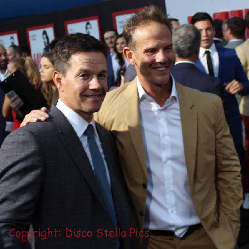 Mark Wahlberg  with Director Peter Berg