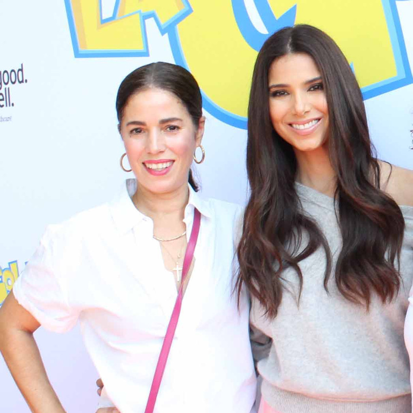 Ana Ortiz and Roselyn Sanchez - Actresse