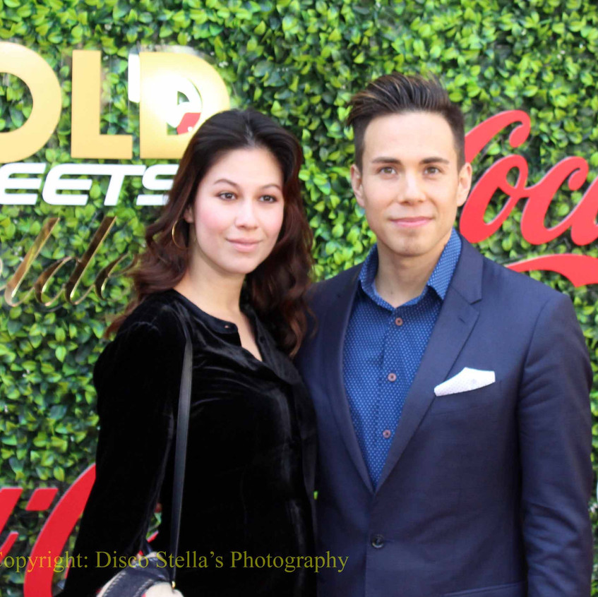 Apolo Ohno with guest
