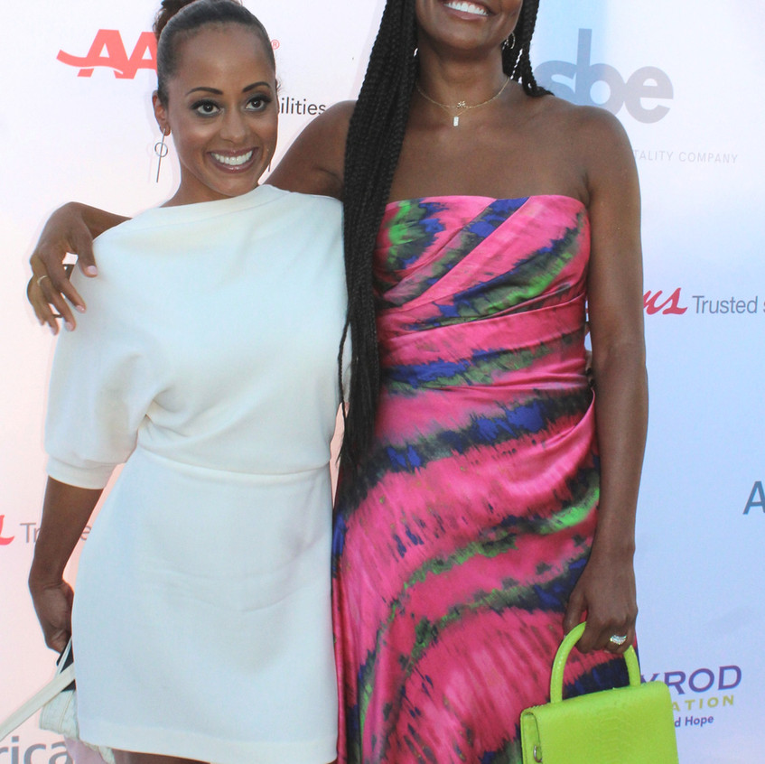 Essence Atkins and Gabrielle Union- Actr