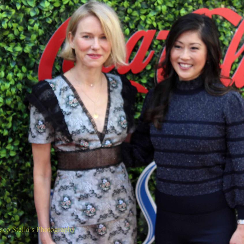 Naomi Watts and Kristi Yamaguchi...