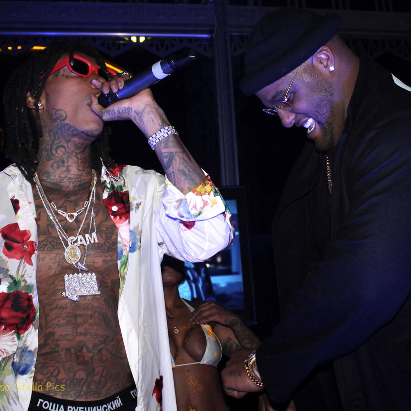 Wiz Khalifa - Rapper and Glen Davis- Veteran NBA Player 13