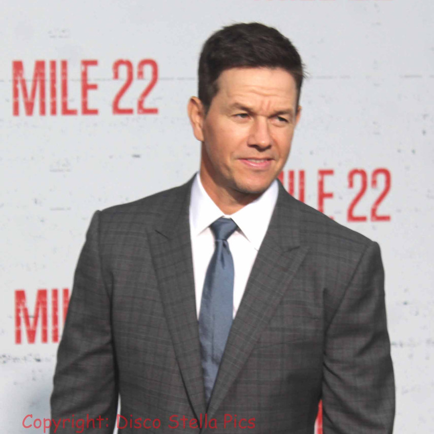 Mark Wahlberg- Cast of Mile 22   actor o