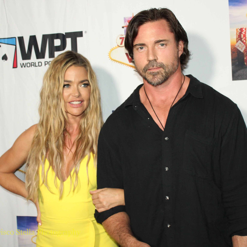 Denise Richards and Aaron Phypers...