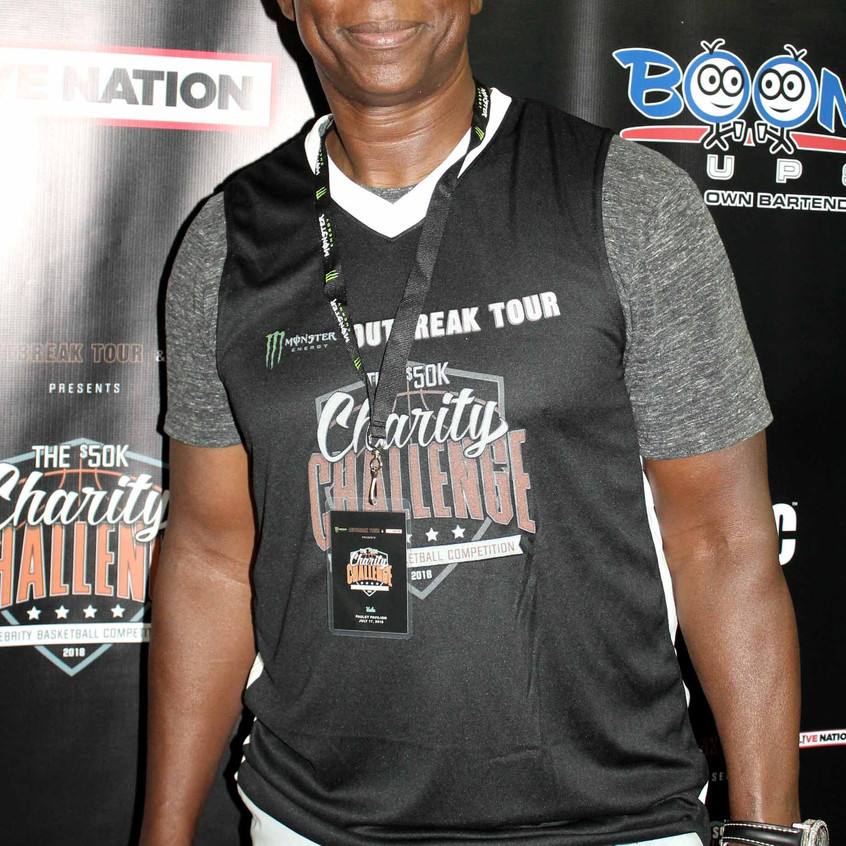 Eric Dickerson (Former NFL Player- Captain for Game