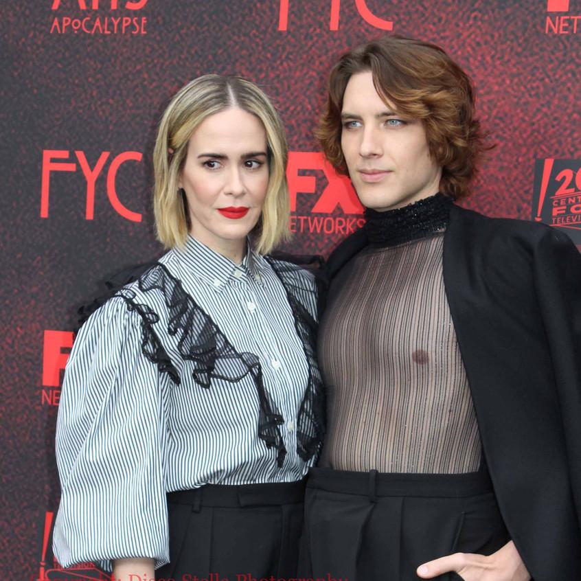 Sarah Paulson and Cody Fern - Cast...