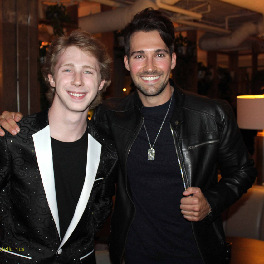 Joey Lutherman (Actor) and James Maslow (Music Artist - Actor)