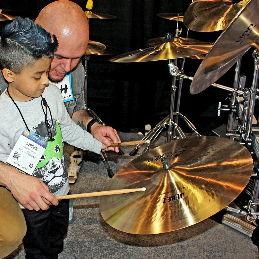 Father and Son - Namm Show
