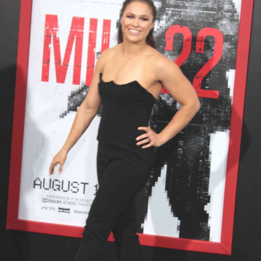 Ronda Rousey - Cast of movie Mile 22