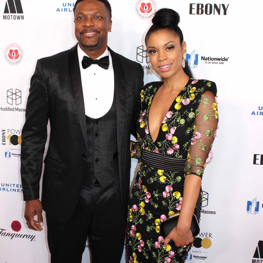 Chris Tucker with guest 2