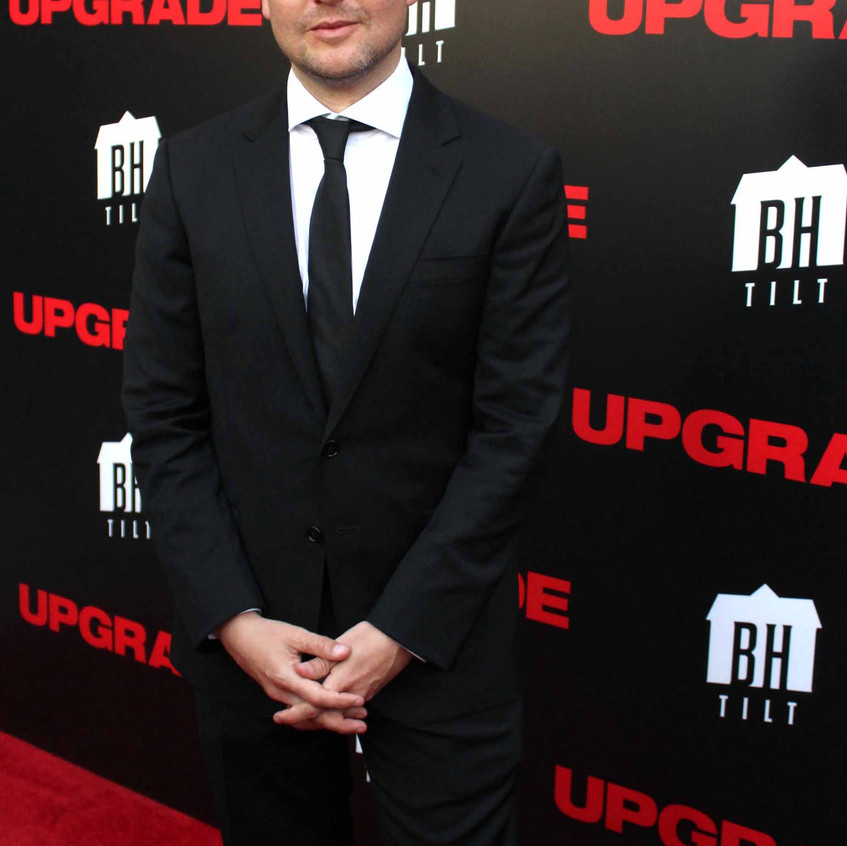 Leigh Whannell- Director of UPGRADE. 1