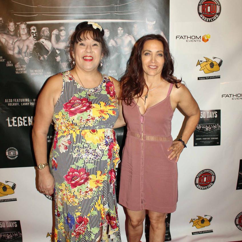 Royal Hawaiian and Cheryl Lighting Rusa - G.L.O.W.
