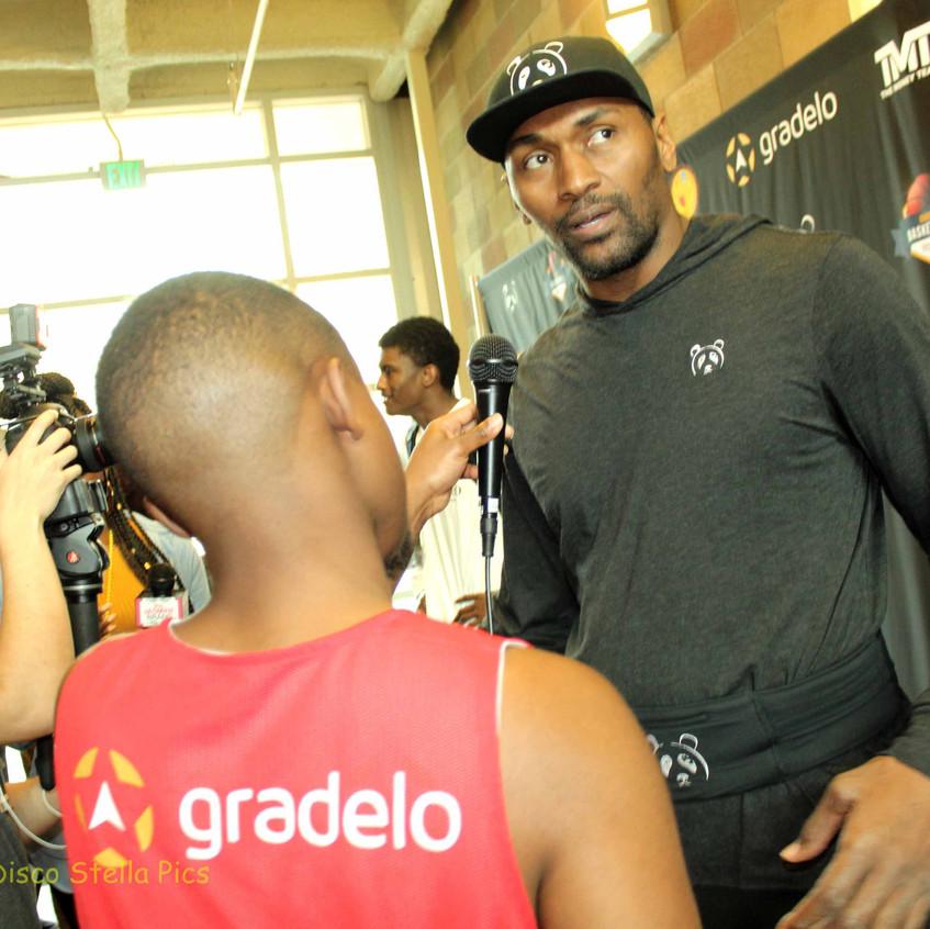 Metta World Peace - Former Basketball Player -Interview 3
