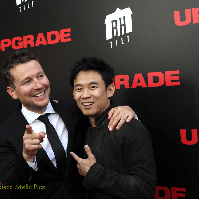 Leigh Whannell (Director - UPGRADE) and James Wan 1