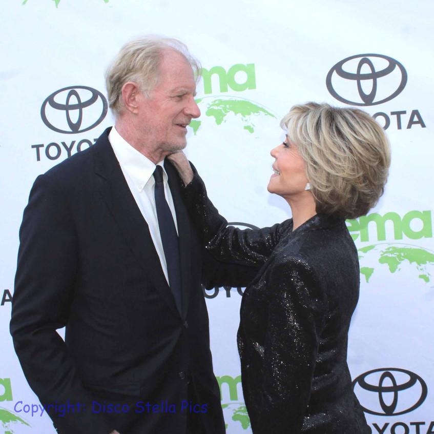 Ed Begley Jr. and Jane Fonda