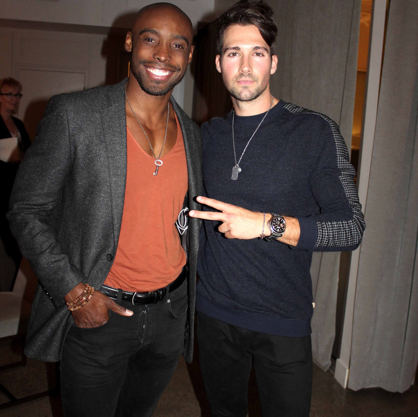 Guest with James Maslow -Singer - Actor