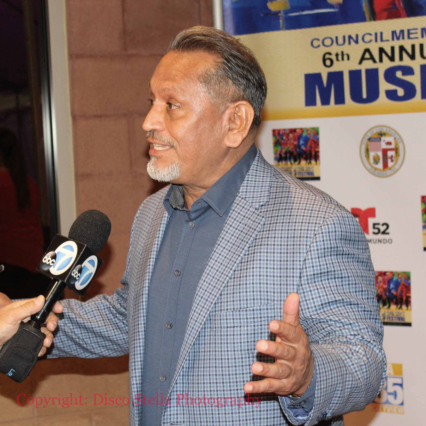 Councilman Gilbert Cedillo-Channel 7 Int