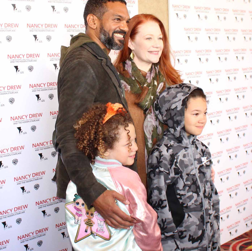 Khary Payton - Actor with family