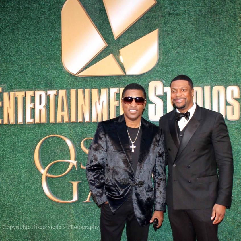 Kenny Babyface Edmonds  and Chris Rock..