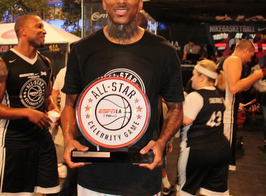 ESPNLA 710 All-Star Celebrity Basketball benefiting The Stuart Scott Memorial Cancer Research Fund w