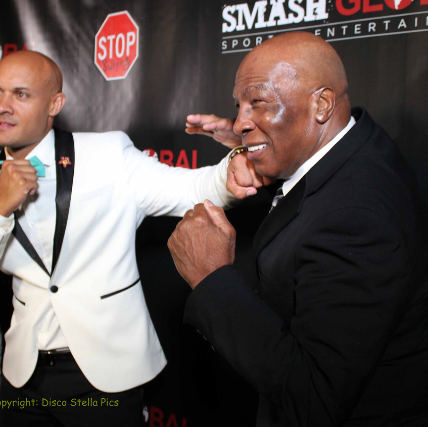 Steve Orosco and Earnie Shavers - Boxing Legend