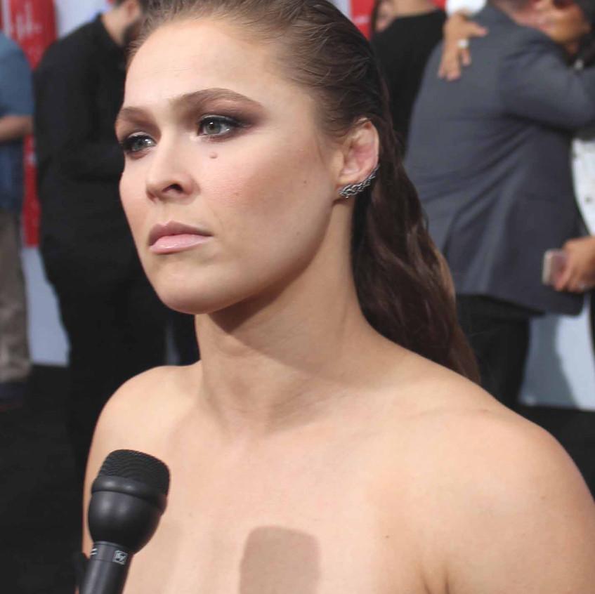 Ronda Rousey - Cast