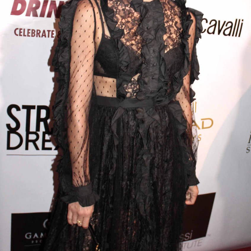 Lana Parrilla- Actress on the red carpet