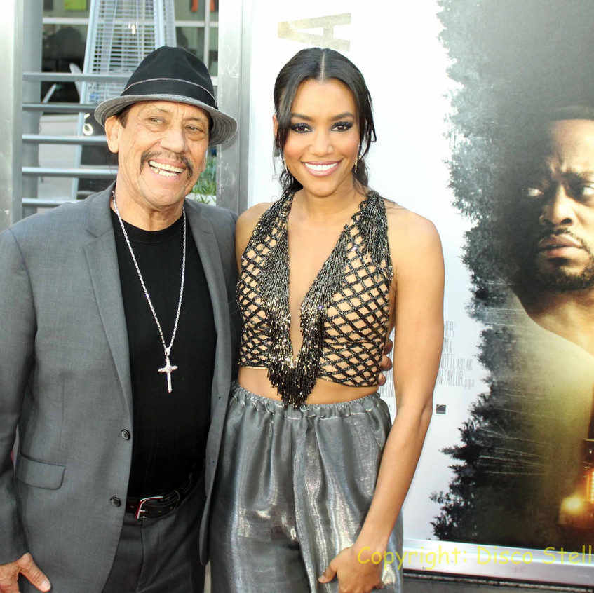 Annie Ilonzeh - Actress with Danny Trejo- Actor. 1