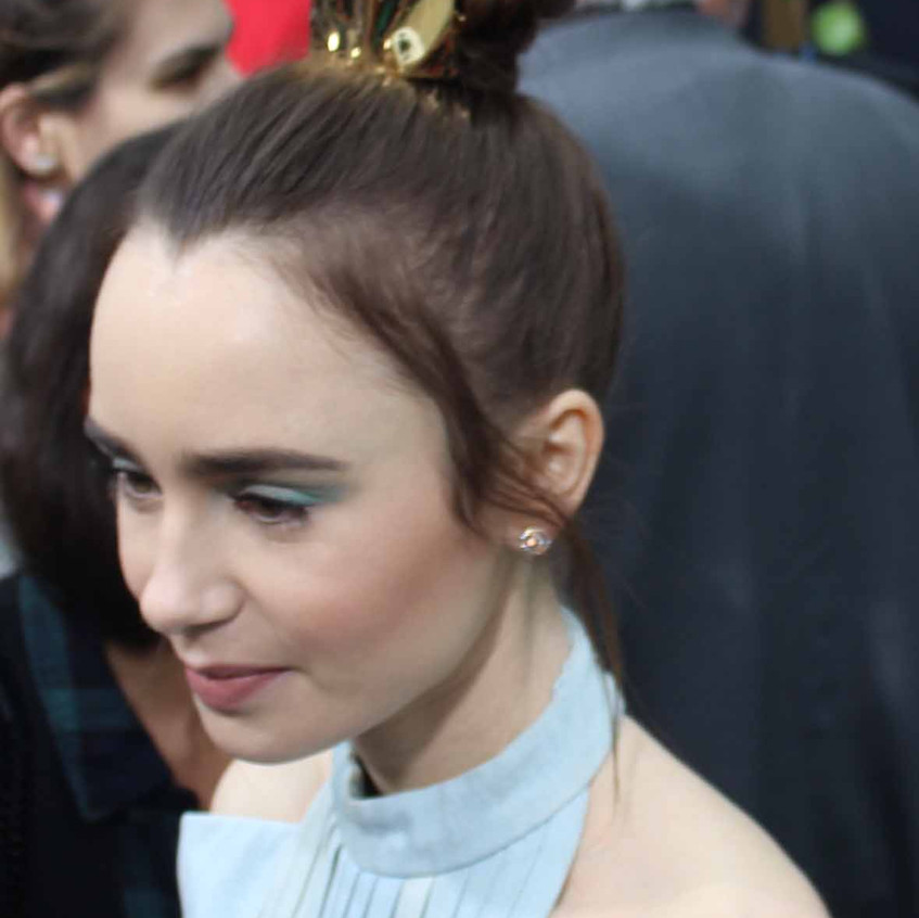 Lily Collins- Actress - Cast - Being int