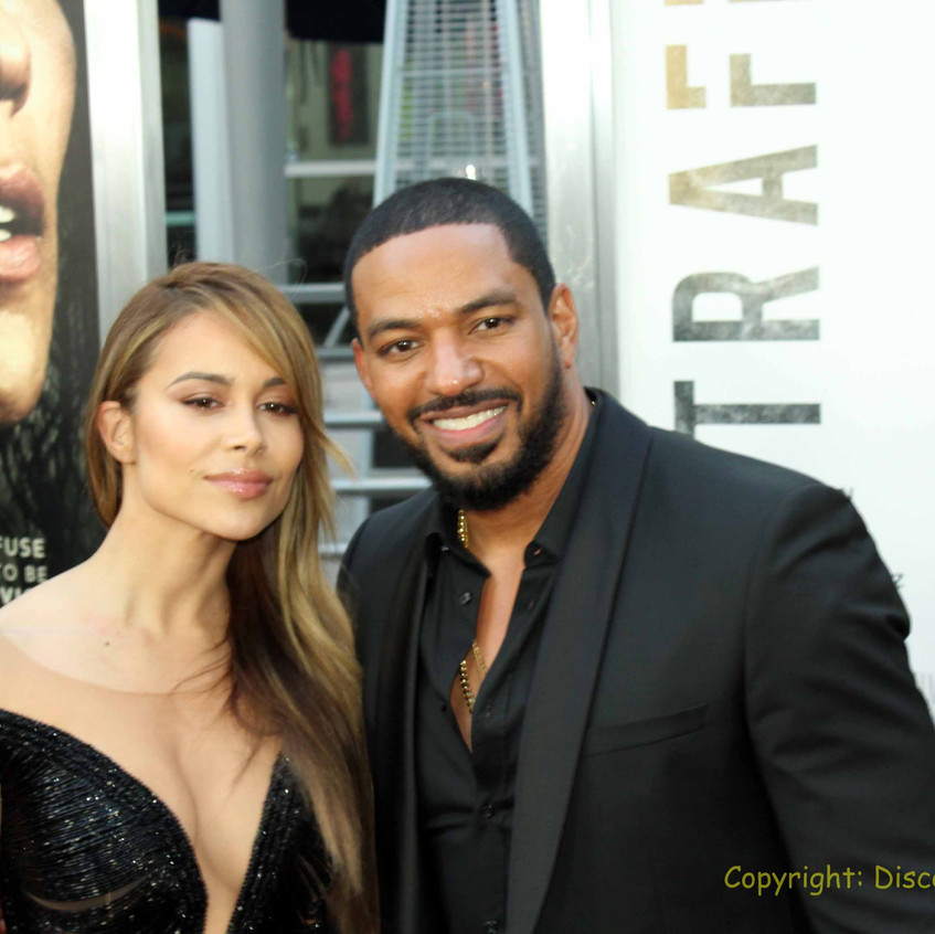 Zulay Haneo - Actress with Laz Alonso - Actress