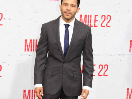 Mile 22 Los Angeles movie premiere features Mark Wahlberg.