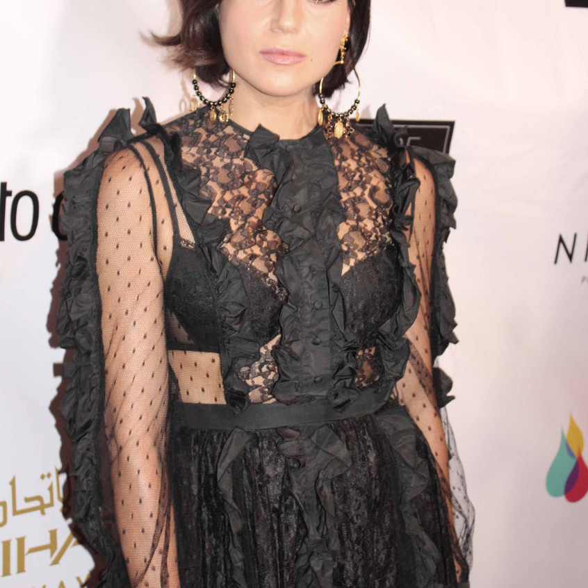 Lana Parrilla on the red carpet