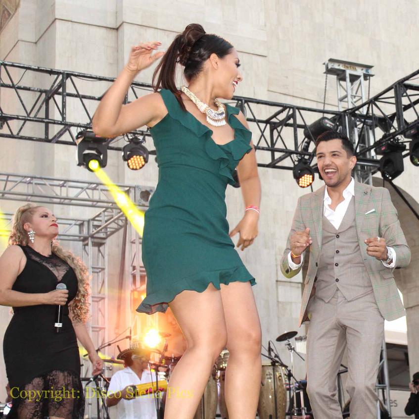 Nitzia Chama -  Bebe Coronel dancing 2