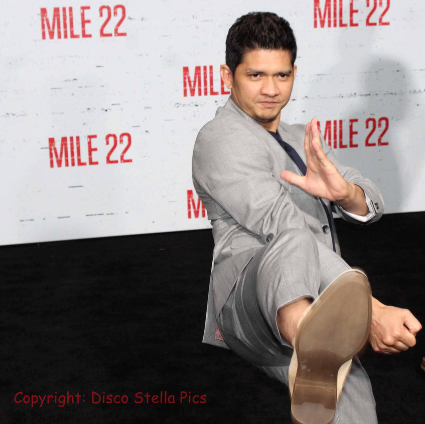 Iko Uwais- Actor  and Cast of Mile 22