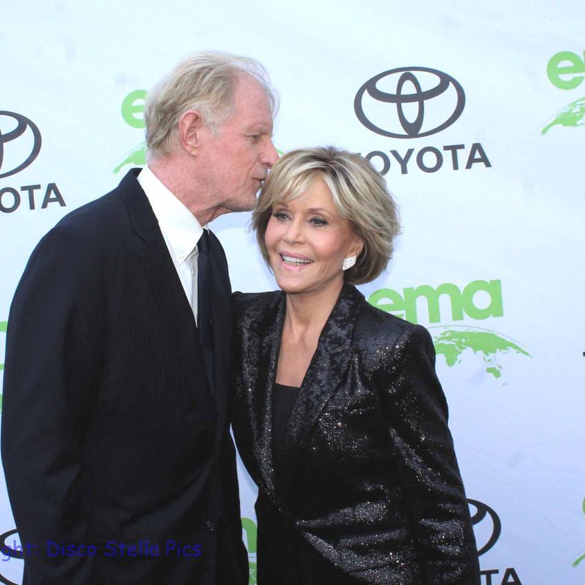 Ed Begley Jr. and Jane Fonda- Saying Hello 1