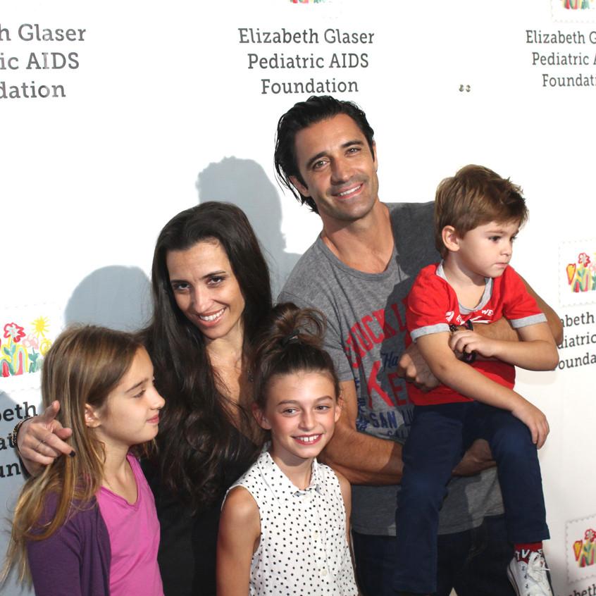 Gilles Marini & Family