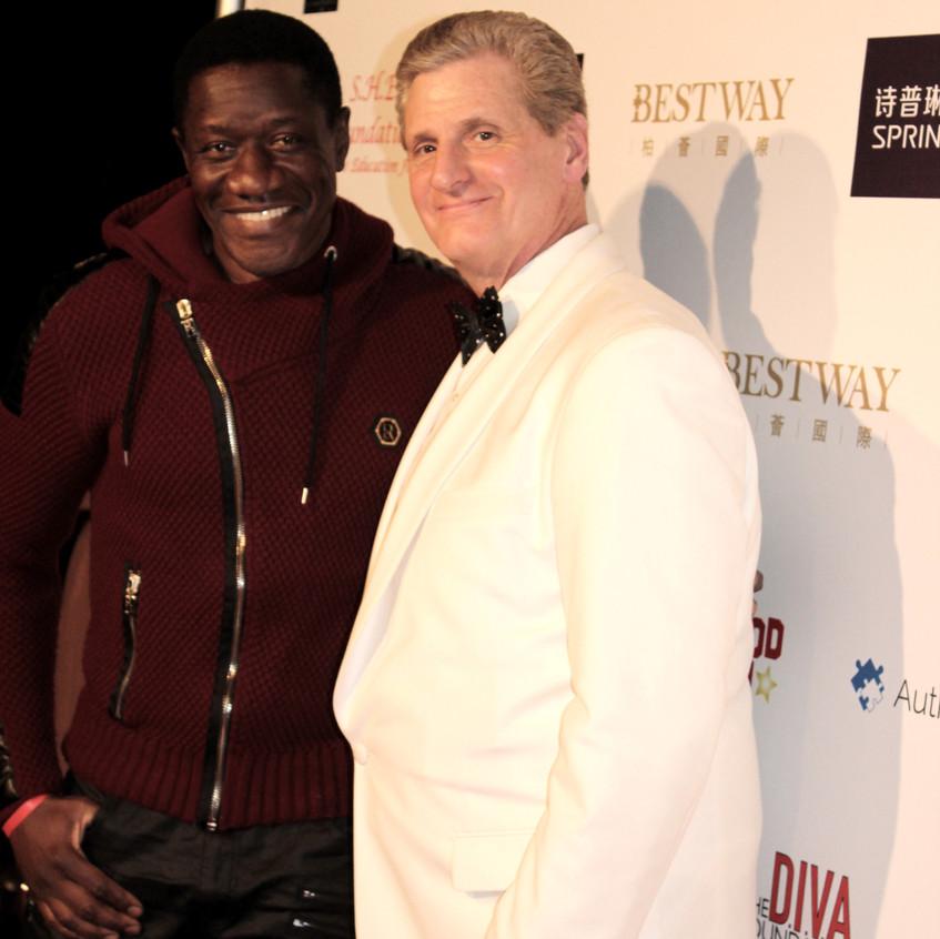 Benjamin Onyango-Actor with Roger Neal