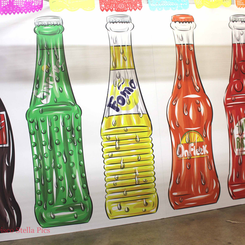Soft Drink Pop Art