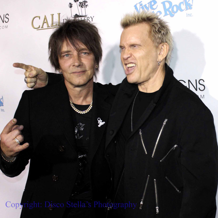 Billy Morrison and Billy Idol........