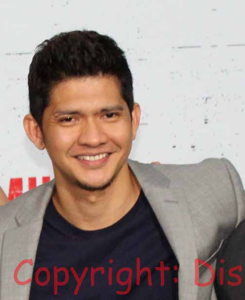 Iko Uwais- Actor on carpet