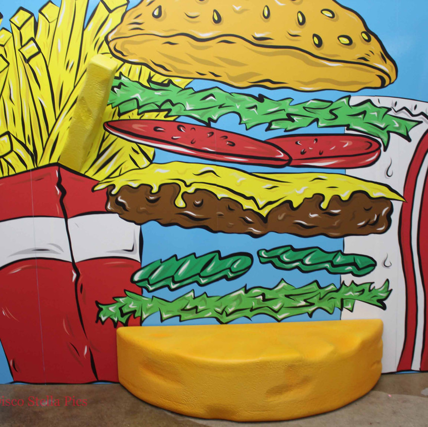 Pop Art - Hamburger