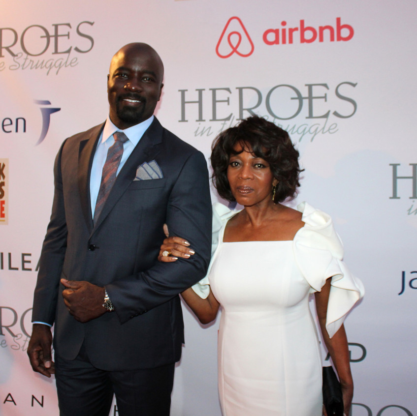 Mike Colter -Actor and Alfre Woodard-Actress