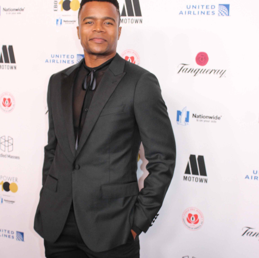 Marque Richardson - Actor on the red car